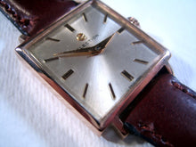 Load image into Gallery viewer, Election Square 18K Rose Gold, Manual, 26x26mm Square