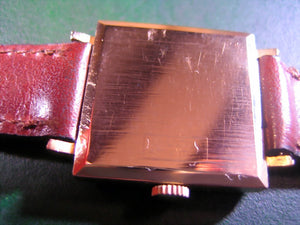 Election Square 18K Rose Gold, Manual, 26x26mm Square