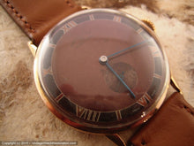 Load image into Gallery viewer, Massive 18K Rose Gold Election Grand Prix Brown Two-Tone Dial, Manual, Massive 37mm