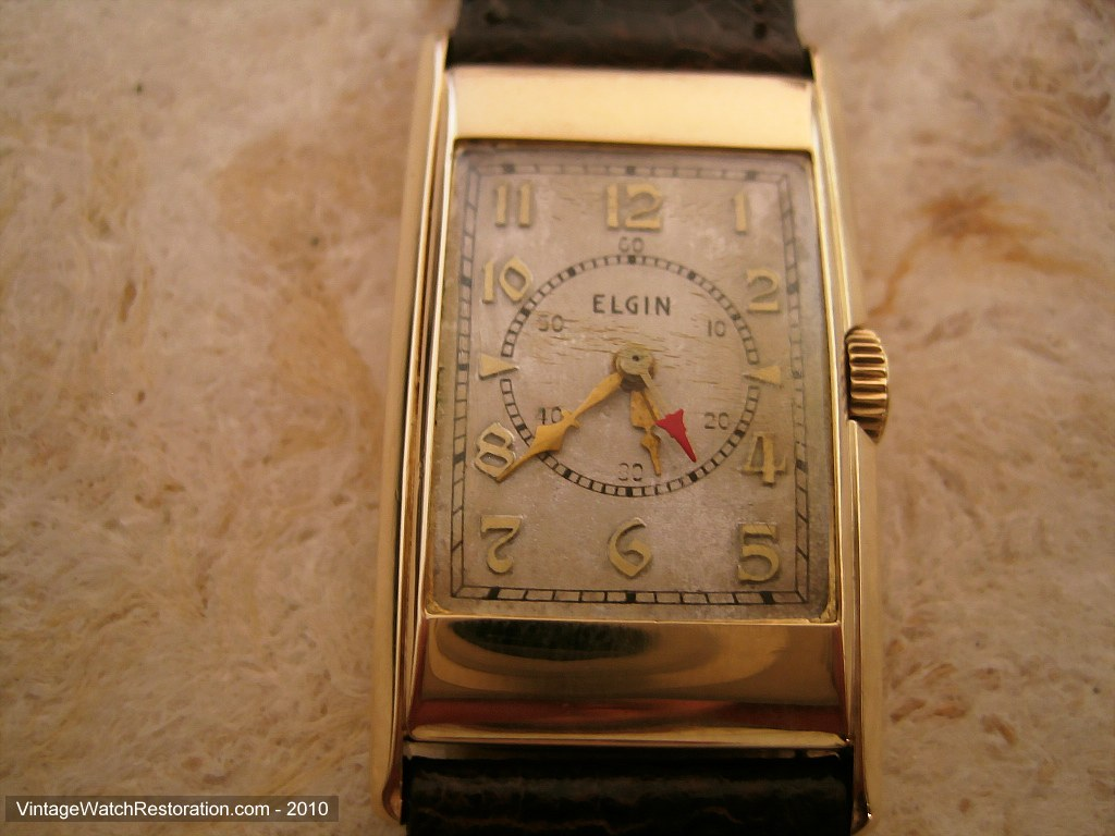 Early Doctor's Elgin Gem, Manual, 21x39mm