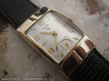 Load image into Gallery viewer, Elgin Cream Dial Deco Case Cal 673, Manual, 21.5x36mm