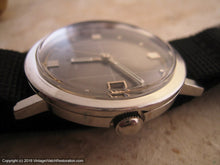 Load image into Gallery viewer, Elgin Vacuum Decorated Gray Dial with Date (OC1), Automatic, Large 35mm