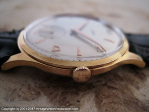 Magnificent NOS Eska Two-Tone Dial, Manual, Large 36mm