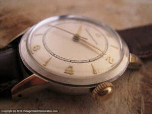 Early Eterna-Matic with Rare Early Rotor Automatic Movement, Automatic, 33mm