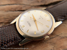 Load image into Gallery viewer, Elgin Sleek Case with Classic Dial, 27 Jewel, Automatic, 32.5mm