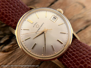 Eterna-Matic 'Birks' Pie-Pan Dial with Date, NOS, Automatic, 33.5mm