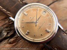 Load image into Gallery viewer, Eterna-Matic 'Centennaire 61' Coppery Patina, Date, Automatic, Large 35mm