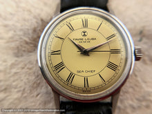 Load image into Gallery viewer, Favre-Leuba 'Sea Chief' with Bright Yellow Dial, Manual, 34mm