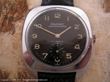 Load image into Gallery viewer, Favorit Military Wehrmachtswerk with Black Dial, Manual, 36x41mm