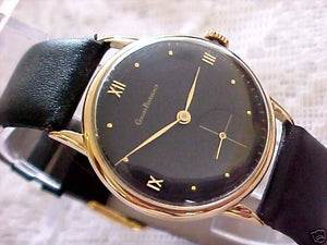 Girard-Perregaux Solid 18K Gold, Manual, Large 35mm