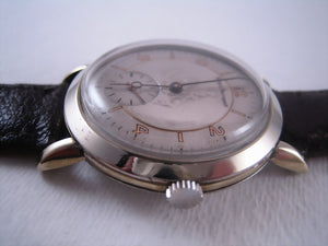 Very Large Girard-Perregaux with St. Christopher Dial Design, Manual, Very Large 38mm