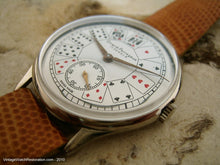 Load image into Gallery viewer, Girard-Perregaux Unusual Playing Card Dial Design, Manual, Huge 38mm