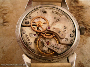 Complicated Gotham Date-O-Matic Moonphase, Manual, Large 35mm