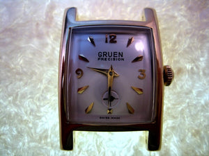 Curved Gruen Precision, Automatic, 26mmx38mm