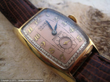 Load image into Gallery viewer, Gruen Cal 440 Curvex Two Tone Salmon Dial, Manual, 22.5x40.5mm