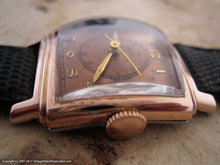 Load image into Gallery viewer, Gruen Veri-Thin Copper Dial Doctor's Dial, Manual, 26x35mm