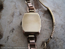 Load image into Gallery viewer, Early Gruen Art Deco Stepped Case with Period Bracelet, Manual, 25x39mm