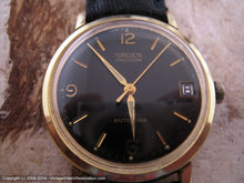 Load image into Gallery viewer, Fabulous Black Dial Gruen Precision with Date, Automatic, Large 34mm