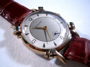 2-Tone Hamilton with Knot Lugs, Manual, 29mm