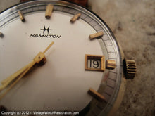 Load image into Gallery viewer, Exquisite 3-Tone Dial Hamilton, Manual, 33.5mm