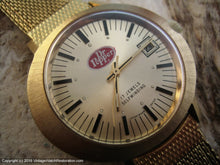 Load image into Gallery viewer, Dr. Pepper Promotional Watch with Date, Automatic, Large 40x42mm