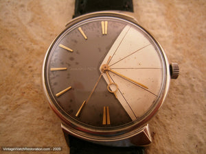 Rare Hamilton Two-Tone Asymmetrical Dial, Automatic, 34mm