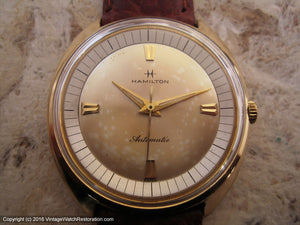Hamilton C-Shaped Case with Outer Chapter Ring on Dial, Automatic, Large 36mm