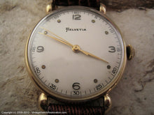 Load image into Gallery viewer, Helvetia 18K Gold with Splendid Dial, Manual, 33.5mm