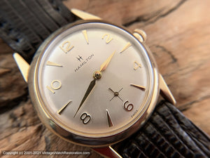 Hamilton Cal 686 Classic Sixties Gem Dial with Lizard Strap, Manual, 32mm