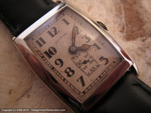 Load image into Gallery viewer, Illinois Kenilworth in Rare Original Drop Shadow Style Dial, Manual, 26x38.5mm