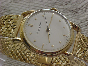 IWC Solid 18k Bracelet, Cal 89, Manual, Very Large 36mm