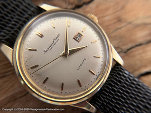 IWC Original Dial Cal 8531 Date, Automatic, 34mm