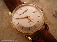 Load image into Gallery viewer, Rare Ingenieur Movement Cal 8521 Pie Pan 18K Gold IWC, Automatic, 34mm