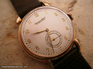 Rose Gold 14K Cal 83 IWC, Manual, Very Large 37mm