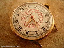 Load image into Gallery viewer, 18K Gold Jaeger LeCoultre Telemetre, Manual, Large 37mm