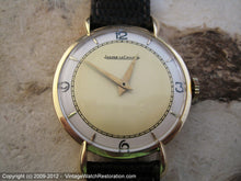 Load image into Gallery viewer, Large Format 18K Gold Two-Tone Jaeger LeCoultre Splendor, Manual, Very Large 36mm