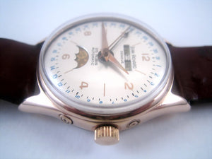 Jean Richard Moon Phase Complicated, Manual, 33mm