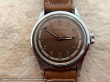 Load image into Gallery viewer, John Wanamaker WWII Era Two-Tone Copper Dial Gem, Manual, 32.5mm