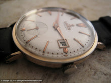 Load image into Gallery viewer, Attractive Lanco 17 Rubis Date in Rose Gold Case, Manual, Large 35mm