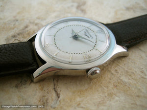 Two-Tone Longines with Small Dauphine Hands, Manual, 34mm