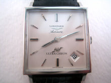 Load image into Gallery viewer, Big Square Longines Ultra-Chron with Date, Automatic, Large 31x31mm