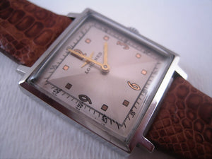 Longines Square Two-Toned Gem, Manual, 28x36mm