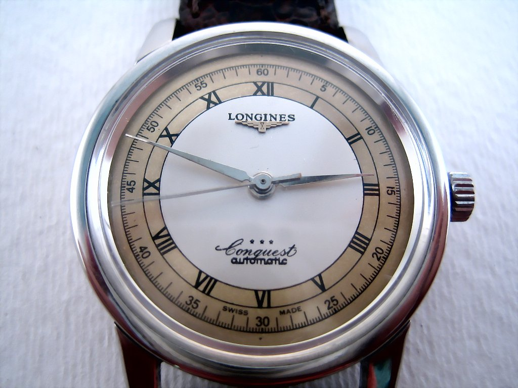 Longines Conquest Two-Tone Roman, Automatic, 35mm