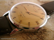 Load image into Gallery viewer, Golden Dial Longines Silver Arrow, Manual, Very Large 35mm