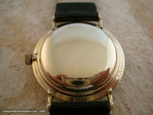 Load image into Gallery viewer, 10K Gold Filled Longines with Rail Track Design, Automatic, 33.5mm