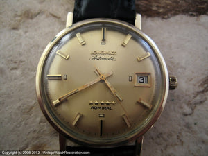 Longines Admiral Five Star with Date, Automatic, Large 35mm