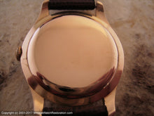 Load image into Gallery viewer, Longines 18K Rose Gold Splendor - Signed 5x, Manual, Large 35mm