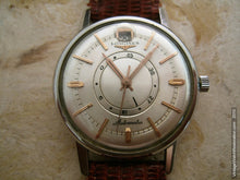 Load image into Gallery viewer, Rare Longines Date at 12 with Power Reserve Indicator, Automatic, Large 35.5mm