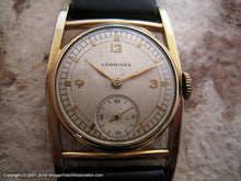 Load image into Gallery viewer, Longines Original Dial Set in 'Way Cool' Case, Manual, 27x39.5mm