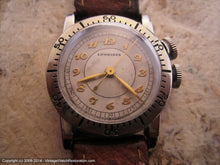 Load image into Gallery viewer, Rare Longines Weems WWII Era Pilot, Manual, 27mm